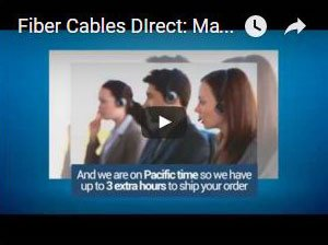 Fiber Optic Cables YouTube Video