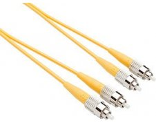 TAA OS2 FC FC Duplex Fiber Patch Cable 9/125 Singlemode